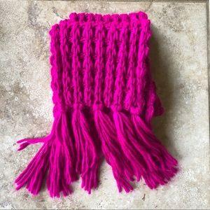 Chunky Weave/ Chain Stitch Scarf